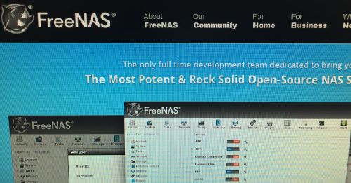 FreeNAS Backup © Maximilian Riess / Riess Group.